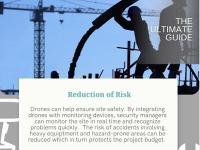 UAV Safety Plans for Construction Sites