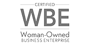 Certified WBE Woman Owned Business Enterprise
